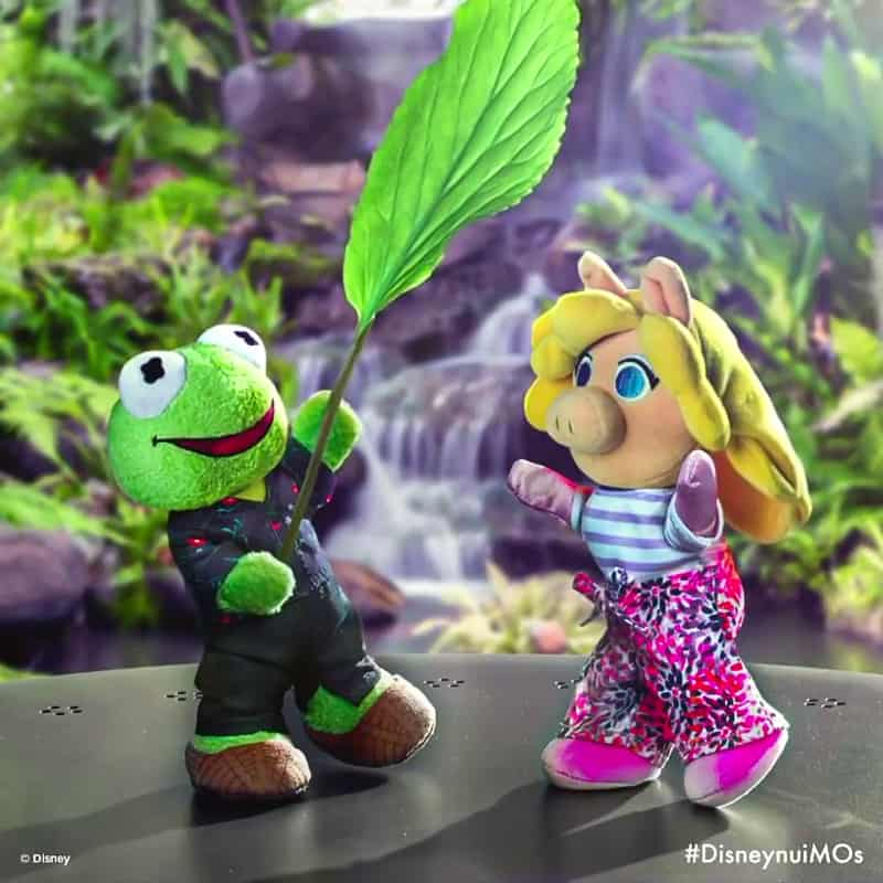 Miss Piggy and Kermit nuiMOs
