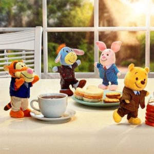 Winnie the Pooh and Friends nuiMOs plush